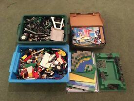 2 massive tubs of lego and technic