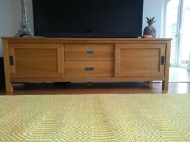 Next Wooden TV stand, mint condition