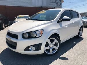 2014 Chevrolet Sonic LTZ Manual LEATHER MOON ROOF