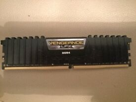 16gb DDR4 Corsair LPX 3000mhz