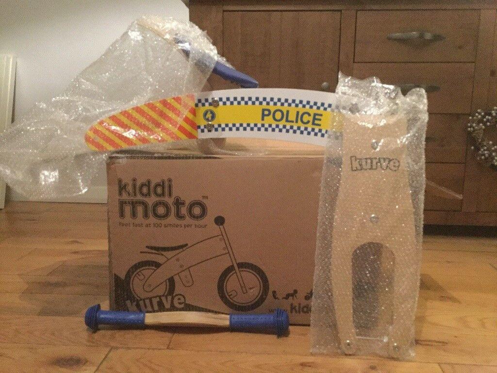 Kiddi moto Kure balance bike (police)