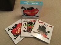 Child 3 book box set - Splat the Cat Collection by Rob Scotton
