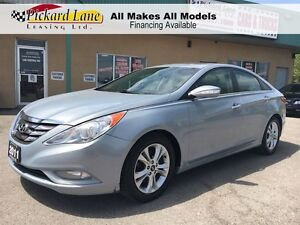 2011 Hyundai Sonata $132.83 BI WEEKLY! $0 DOWN! LIMITED! LEATHER