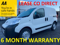 Peugeot, BIPPER, Panel Van, 2017, Manual, 1248 (cc)***FULL SERVICE HISTORY***LEASE CO DIRECT***