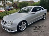 MERCEDES CLK 220 CDI SPORT AUTO 2008, FACTORY AMG STYLING, STUNNING CAR