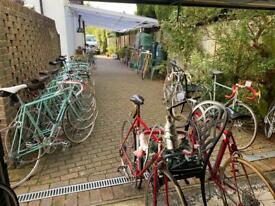 Classic Vintage Italian road bikes - stock to clear - single or bulk - over 50 bikes