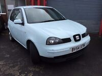 2004/54 Seat Arosa 1.0l petrol, 8 months mot, HPI Clear, only 80000 miles