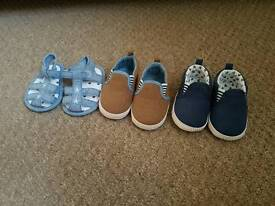 Boys shoes 6-9 months