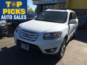 2011 Hyundai Santa Fe GLS, AUTOMATIC, ALLOYS, SUNROOF, POWER GRO