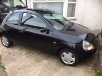 ford KA in black breaking for parts year 2000