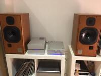 Harbeth hl compact 7 bbc broadcast av monitor speakers , decent offer accepted