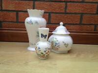 Three pieces of Ainsley Bone China excellent condition