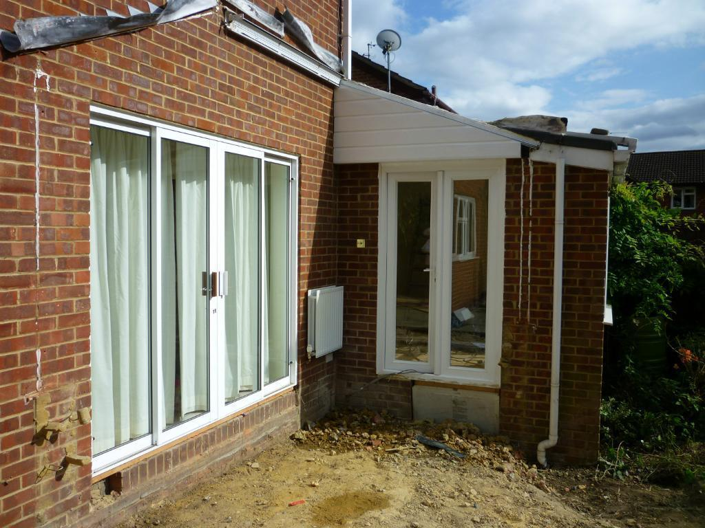 Upvc double glazed patio doors in bexley london gumtree for Double glazed porch doors