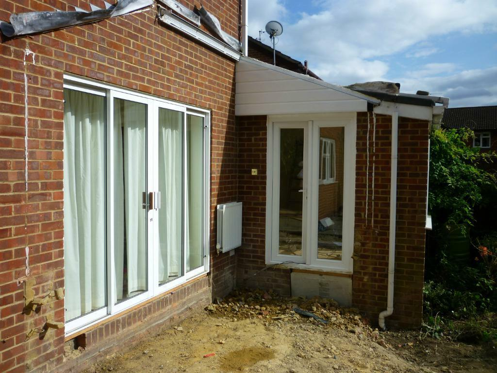 Upvc double glazed patio doors in bexley london gumtree for Double glazed upvc patio doors