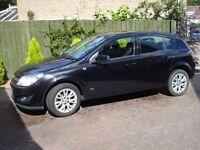 sept 2009 vauxhall astra active 1.4 petrol manual 5 door hatch metallic black