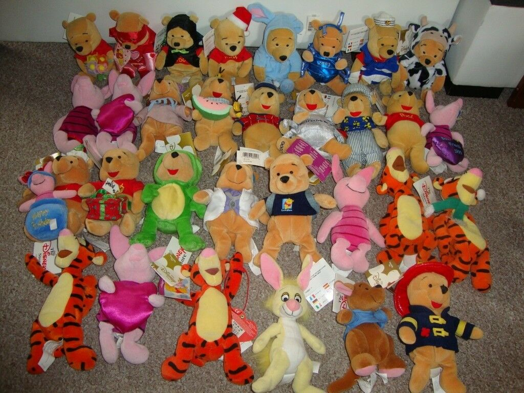 disney store winnie the pooh bundle