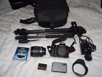 Canon 70D + Lens Kit (Originally worth £1645)