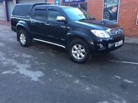 2010 TOYOTA HILUX 3.0 D4-D INVINCIBLE, NO VAT , EXC CONDITION , DELIVERY / SHIPPING AVAILABLE