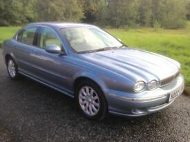 JAGUAR X-TYPE V6 2.5,2002,EXCELLENT CONDITION,SERVICE HISTORY,MOT JUNE 2018,£995!