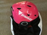 Junior ski helmet Dainese, new from stock clearance. Pink JXXS-JL (48-56) adjustment size rotor