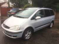 2001 FORD GALAXY GHIA 2.3 16V MANUAL NEW MOT