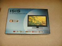 """19"""" LED TV For Sale Brand New and Boxed"""