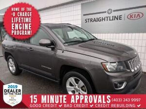 2015 Jeep COMPASS High Altitude *LEATHER AND SUNROOF*