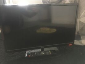 "Logik 24"" tv and dvd combi with remote"