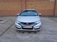 Honda civic 1.6 i d tec Es 2013 63 plate diesel 4 month warrenty