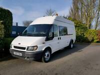 2006 ex environment agency transit t350 jumbo lwb your new day camper van vgc