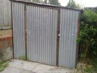 Galvanize shed