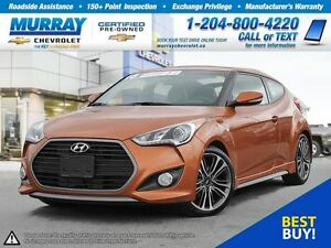2016 Hyundai Veloster *Leather Heated Seats, Sunroof*