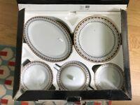 porcelain set 41 pieces