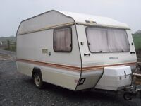 Vintage 1970s Alpine Sprite GL 4 Adult Berths Fabulous Layout Glamping Festival Original Condition