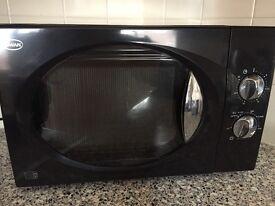 Swan microwave black