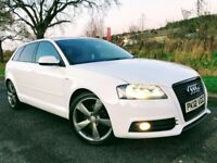 2012 Audi A3 2.0 Tdi S Line Black Edition Sportback ****OWN THIS CAR TODAY FOR £55 A WEEK*****