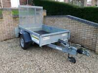 TRAILER indespension - 6ft x 4ft Plant - Great condition!  BRAKED 1.3 TONNE