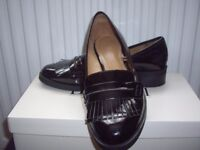 Ladies flat loafer style shoes