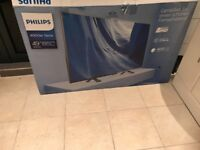 Almost new BOXED.Philips 49 inch 4K ultra hd led internet tv(not smart) £330 NO OFFERS.CAN DELIVER