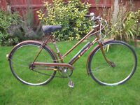 RALEIGH TRANSIT THREE SPEED OINE OF MANY QUALITY BICYCLES FOR SALE