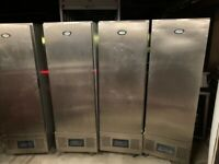 FOSTER UPRIGHT SLIM FRIDGE EACH 550 SERVICED GUARANTEE CATERING COMMERCIAL SHOP