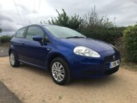2006 FIAT GRANDE PUNTO 1.4 DYNAMIC 3 DOOR, FULL SERVICE HISTORY, JUST SERVICED, ABSOLUTELY FAULTLESS