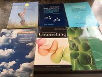 Counselling study books bundle