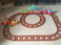 Happyland train set with station
