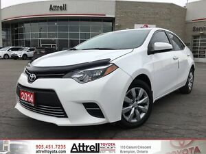 2014 Toyota Corolla LE BACK UP CAMERA, HEATED SEATS, BLUETOOTH