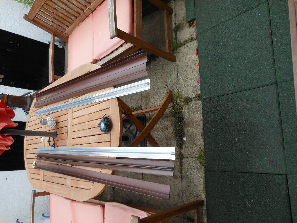 POLYCARBONATE GLAZING BARS SIDE FIXINGS SEALING STRIPS AND FIXINGS | in  Maidstone, Kent | Gumtree