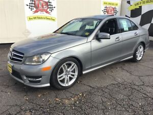 2014 Mercedes-Benz C-Class C300, Auto, Navigation, Sunroof, AWD