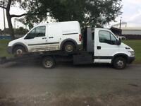 Scrap Vans Wanted! Mot Failures/None Runners!