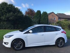 66plate end of 2016, Ford Focus ST line 1.5 diesel,6speed, sat nav, 1owne, 2 keys, mint condition
