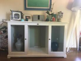 White wood sideboard